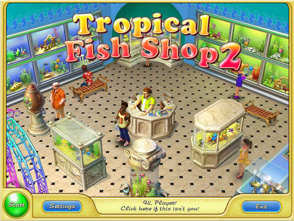 Tropical fish shop 2 steam cd key for Tropical fish shop