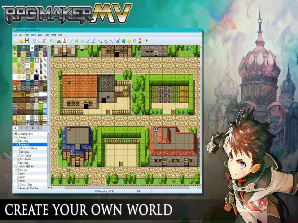 New Game Rpgmaker Net: RPG Maker MV Starter Pack DLC Steam CD Key