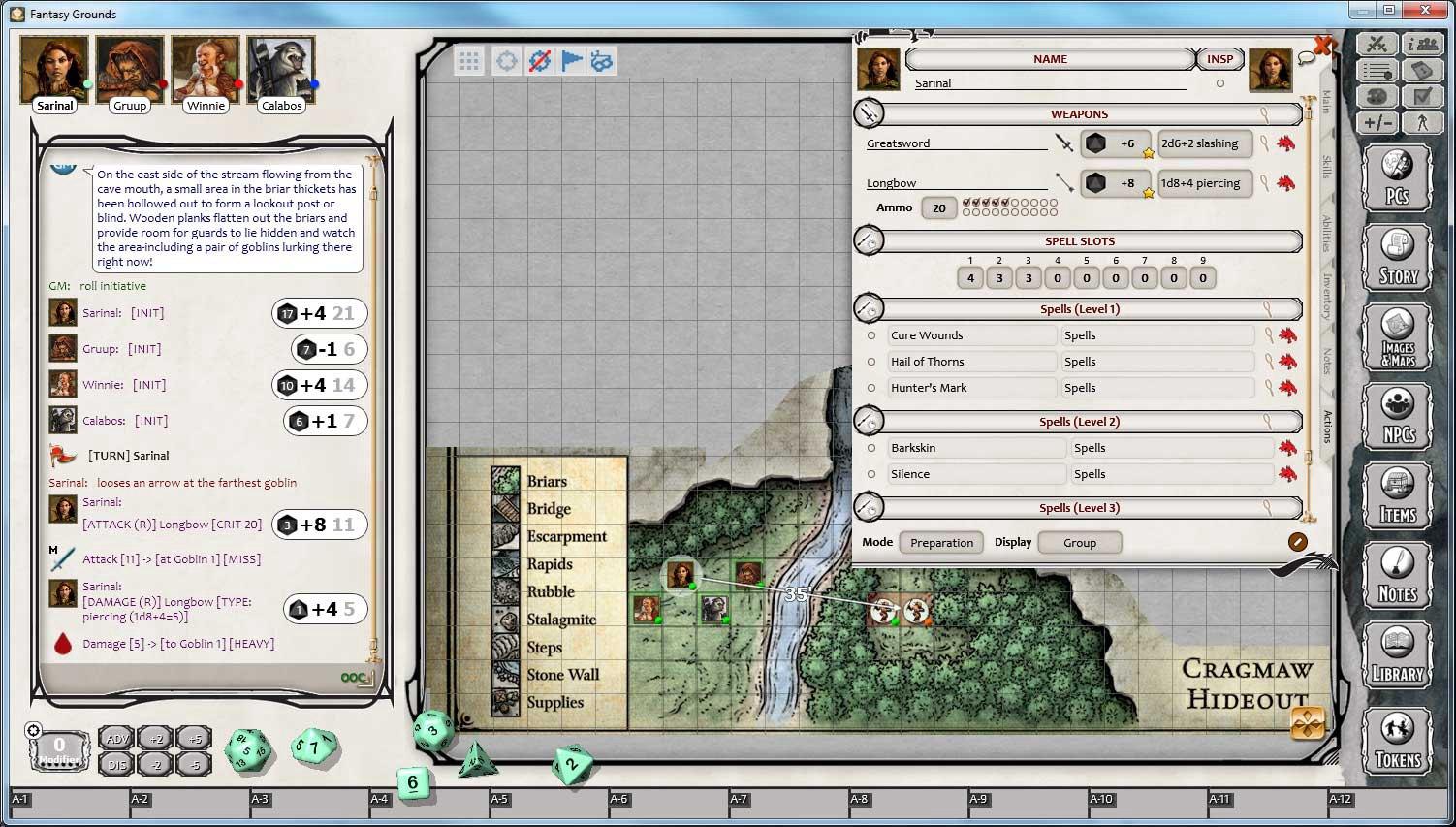 Fantasy Grounds - D&D Lost Mine of Phandelver DLC Steam CD