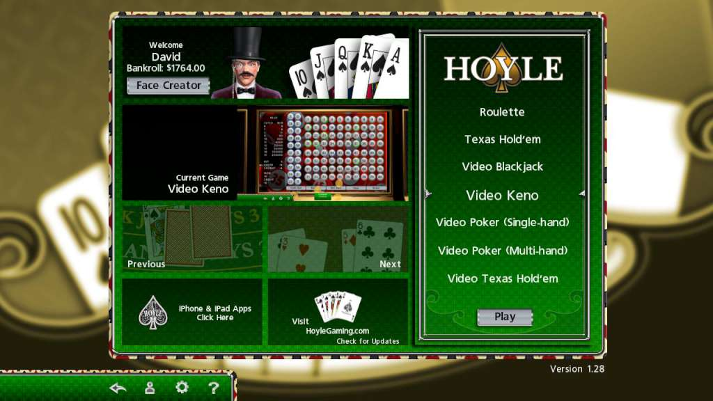Hoyle casino poker acoma casino new mexico