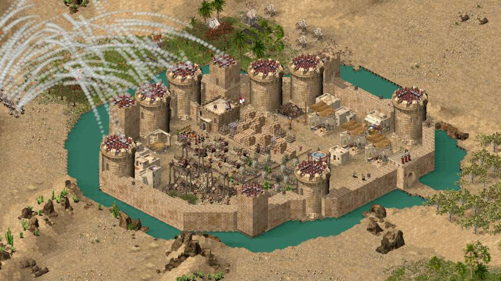 Znalezione obrazy dla zapytania stronghold crusader