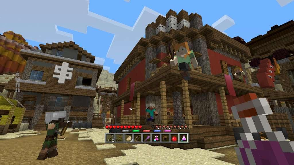 how to download minecraft maps on xbox one