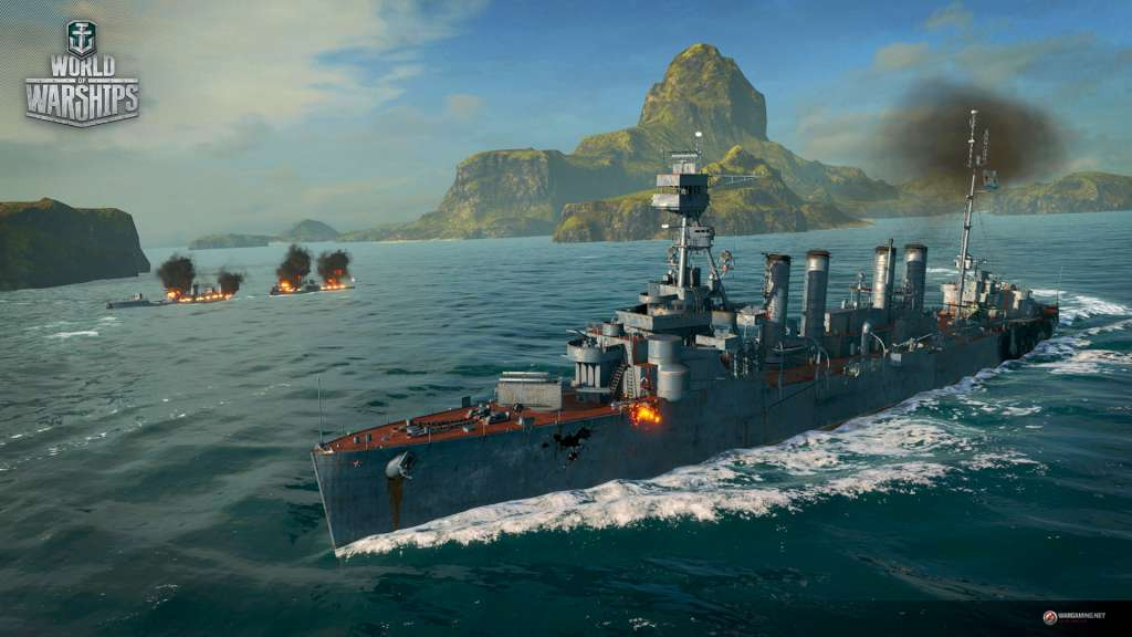 World of Warships - Cruiser Murmansk + 1 Port Slot + 7 Days