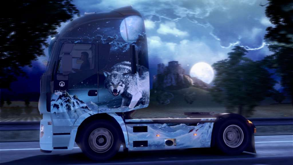 Euro Truck Simulator 2 + Ice Cold Paint Jobs Pack DLC Steam