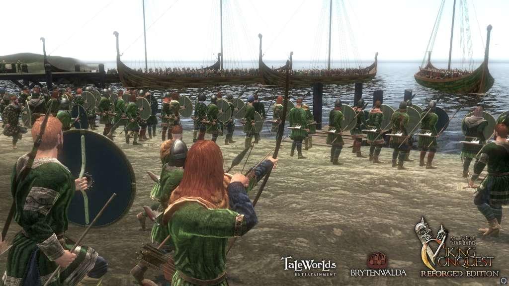 скачать через торрент игру Mount And Blade Warband Viking Conquest - фото 9