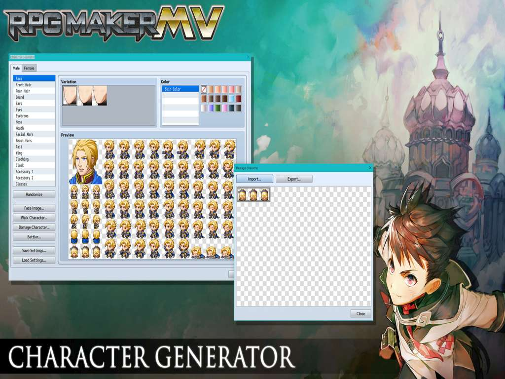RPG Maker MV Bundle Steam Gift | Kinguin - FREE Steam Keys Every