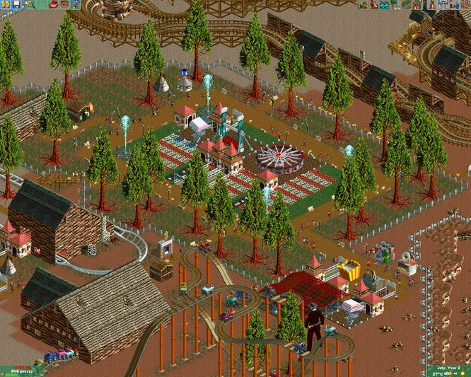 how to make fast money theme park tycoon2