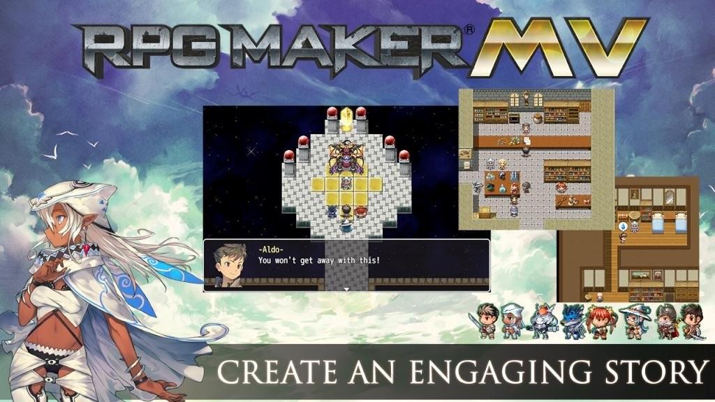 RPG Maker MV - Cover Art Characters Pack DLC Steam CD Key | Kinguin