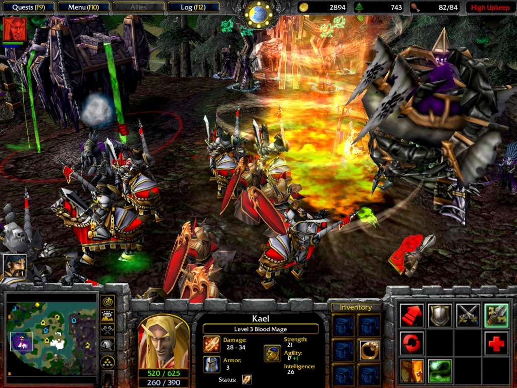 download warcraft 3 frozen throne full version