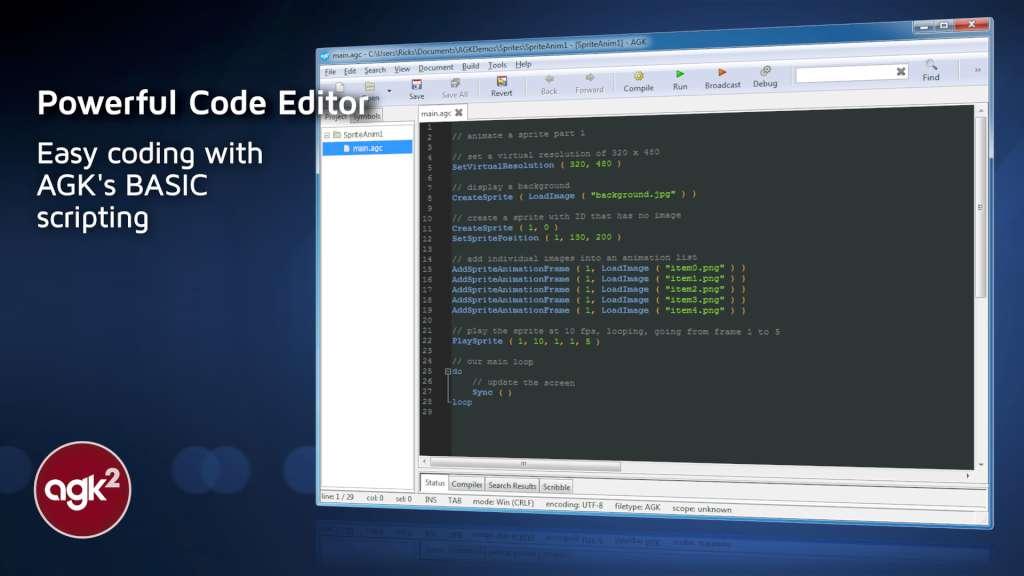 App Game Kit 2: Easy + Instant Game Development Steam CD Key