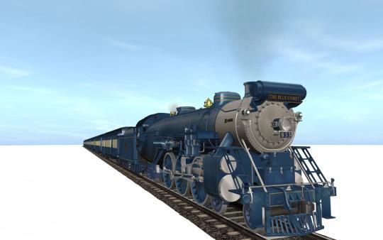 Trainz Simulator DLC: Blue Comet Steam CD Key