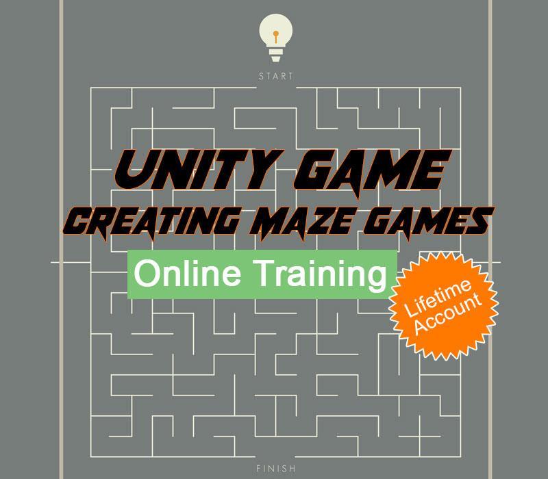 Unity Game - Creating Maze Games Online Training Educba com