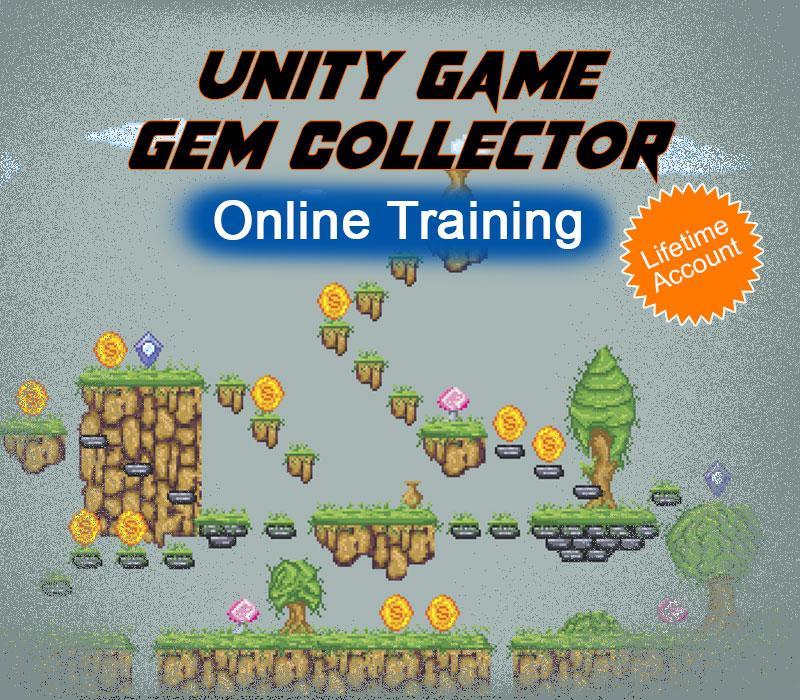 Unity Game - Gem Collector Online Training Educba com Code