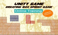 Unity Game  – Creating Box Sprint Game Online Training Educba.com Code