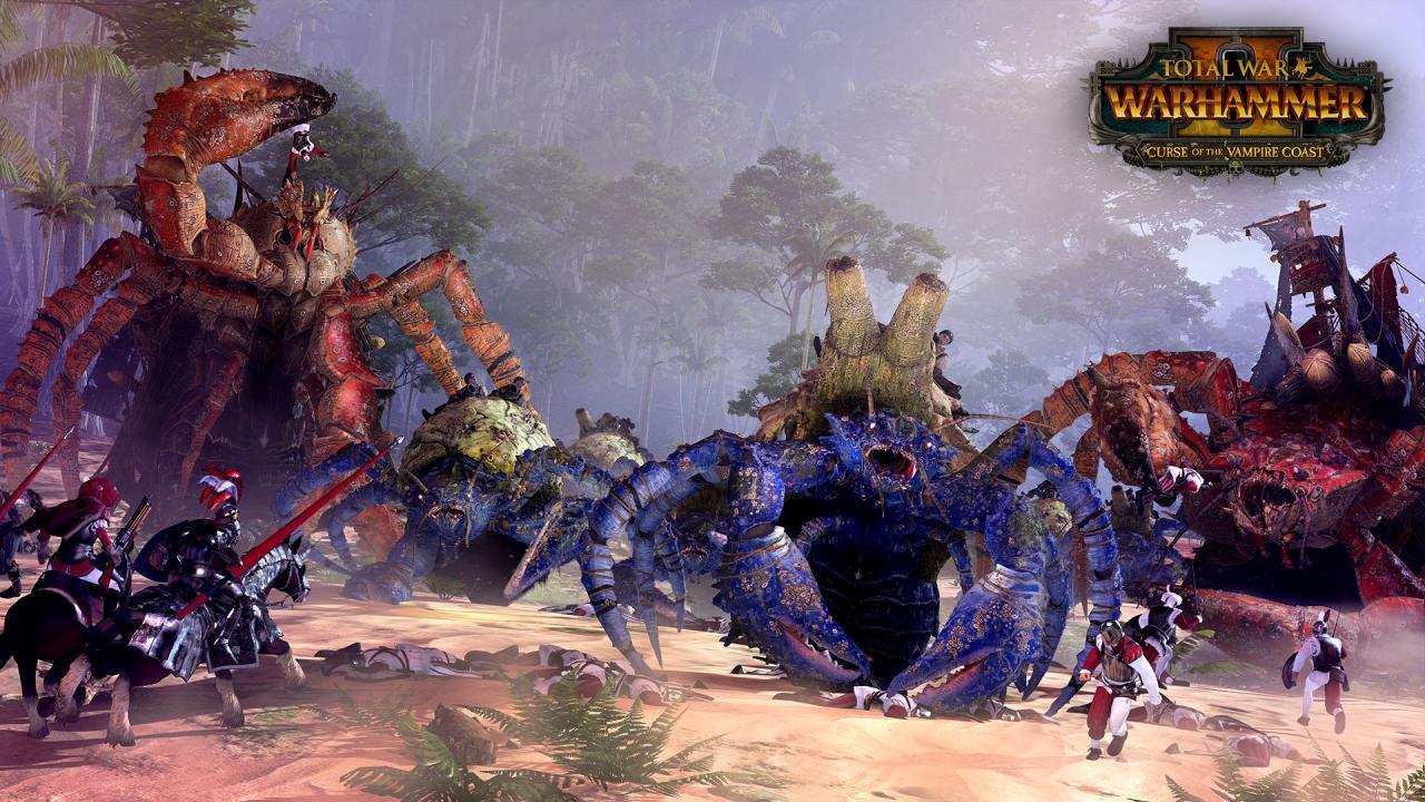Total War: WARHAMMER II - Curse of the Vampire Coast DLC EU