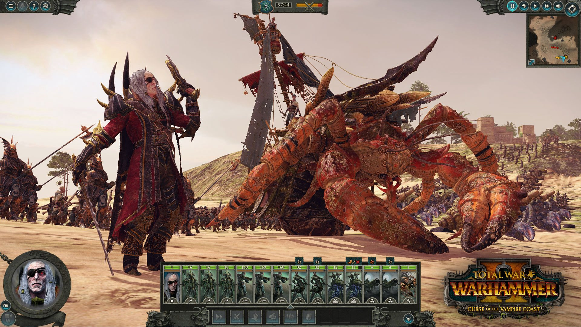 Total War: WARHAMMER II - Curse of the Vampire Coast DLC EU