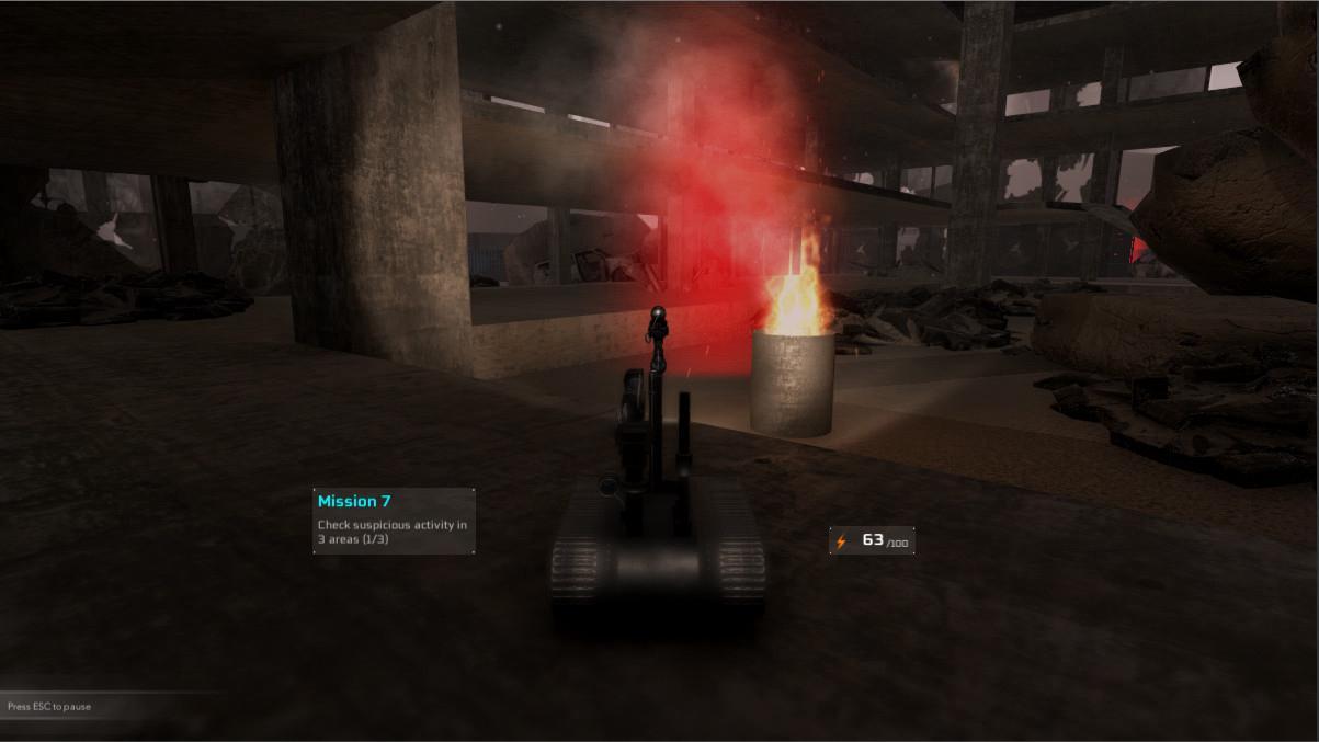 Emergency Robot Simulator Steam CD Key