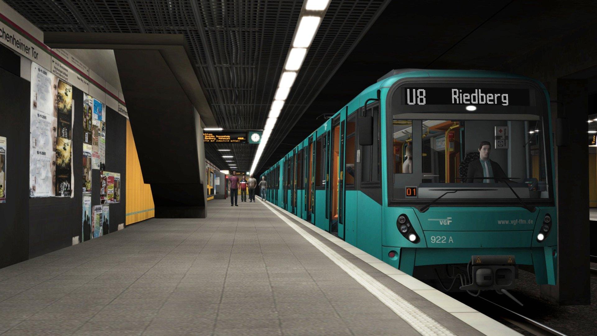 U Bahn Frankfurt Simulator