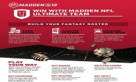 Madden NFL 19 - 12000 Ultimate Team Points US PS4 CD Key