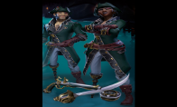 Sea of Thieves - Mercenary Pack DLC Clé XBOX One / Windows 10