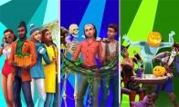 The Sims 4 Bundle - Seasons, Jungle Adventure, Spooky Stuff DLCs US PS4 CD Key