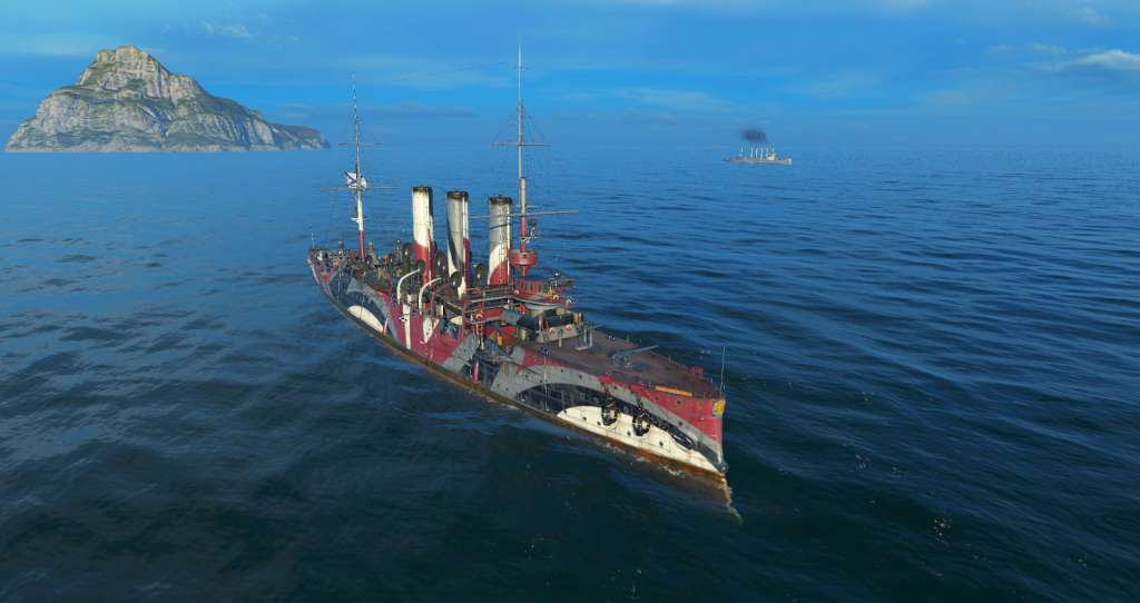 World of Warships - Cruiser Mablehead + 1000 doubloons + 30