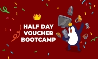 Voucher for booking a bootcamp room (the Arena) for 4 hours for your team (max 5 players and 2 staff)