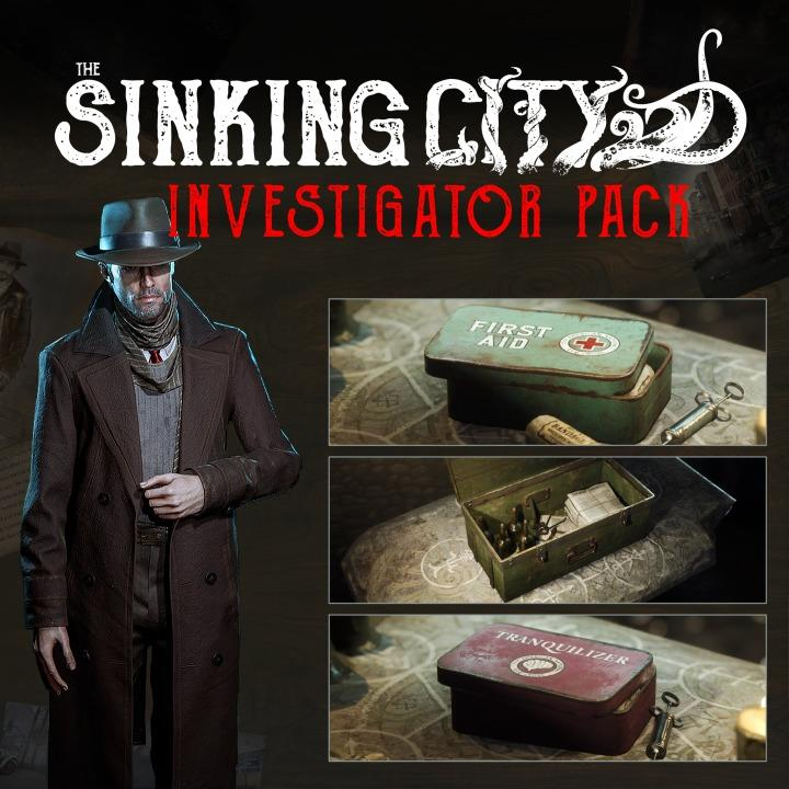 The Sinking City - Investigator Pack DLC EU Epic Games CD Key