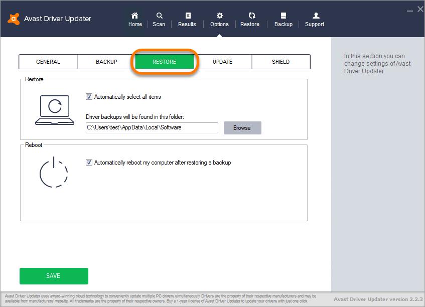avast driver updater registration key 2018 free