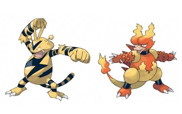 Pokemon x y magmar or elektek nintendo 3ds download - Pokemon elektek ...
