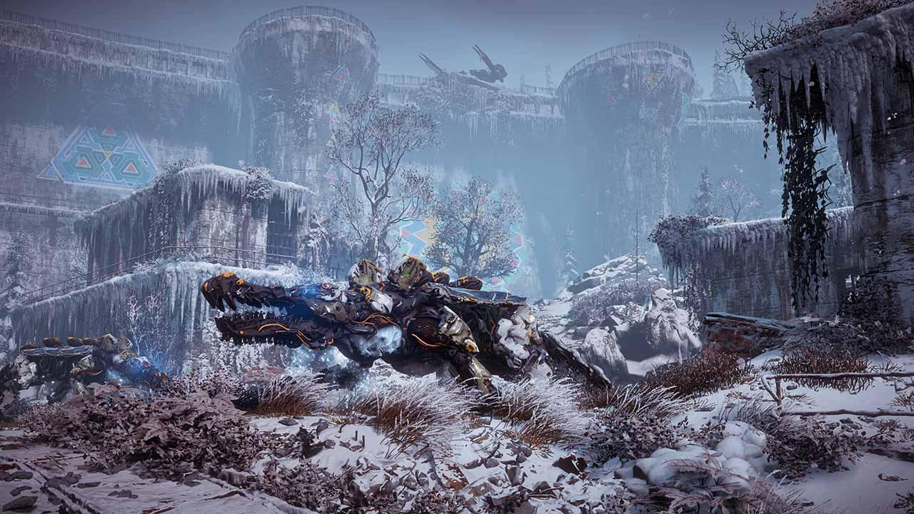 Horizon Zero Dawn The Frozen Wilds Dlc Us Ps4 Key Bei Kinguin Kaufen Sony Playstation 4 Reg 3