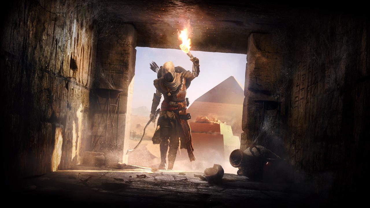 Assassin 39 s creed origins secrets of the first pyramids for Assassin s creed sfondi