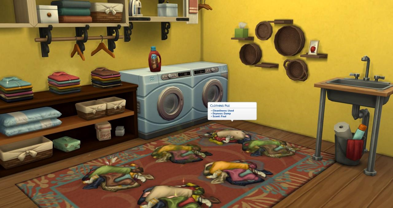The Sims 4 Laundry Day Stuff Dlc Xbox One Cd Key