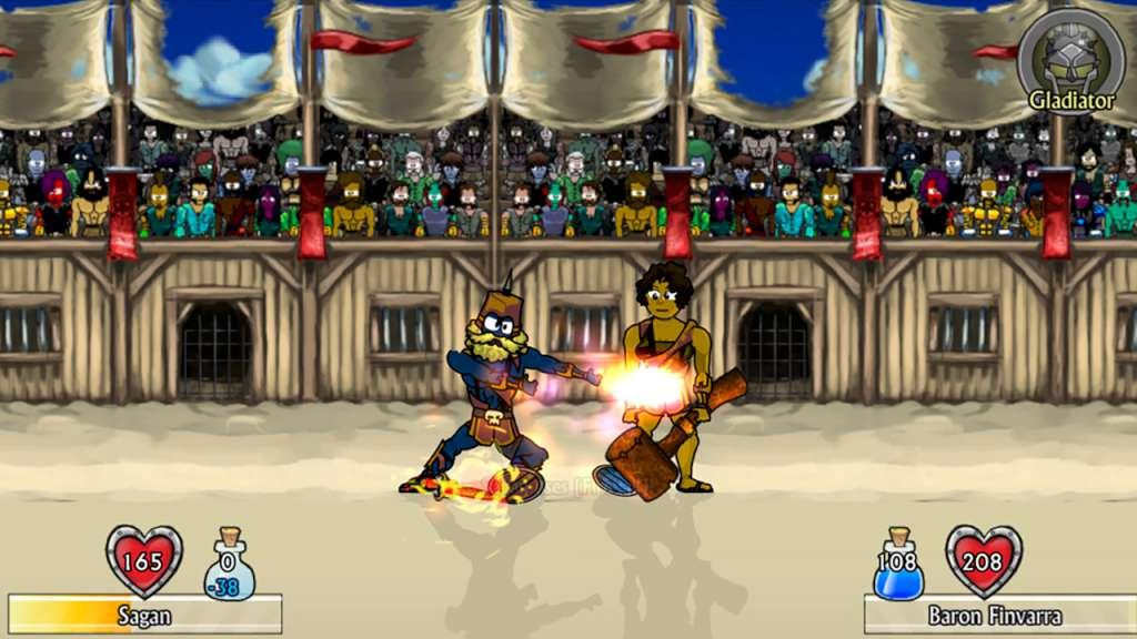 Swords and Sandals 2 Game Play online at