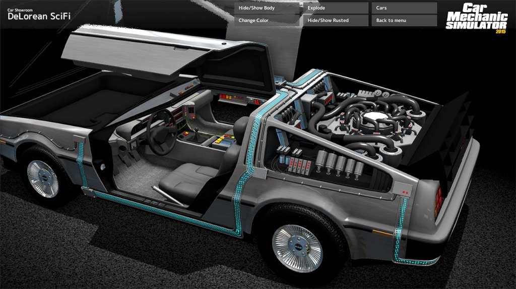 Car Mechanic Simulator 2015 - DeLorean DLC Steam CD Key | Kinguin