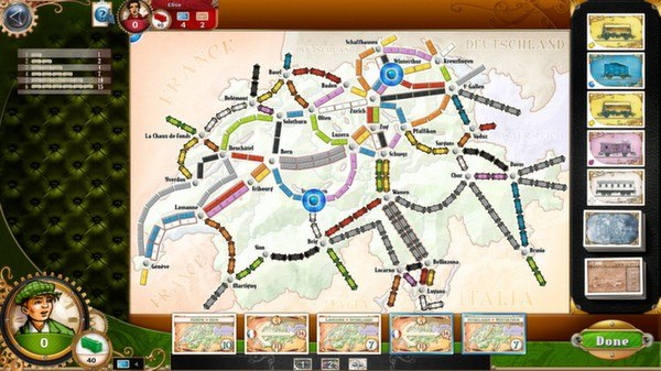 Ticket To Ride Asia Map.Ticket To Ride Switzerland Dlc Legendary Asia Dlc Steam Key Buy