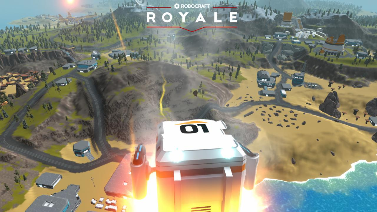 Robocraft Royale Steam CD Key