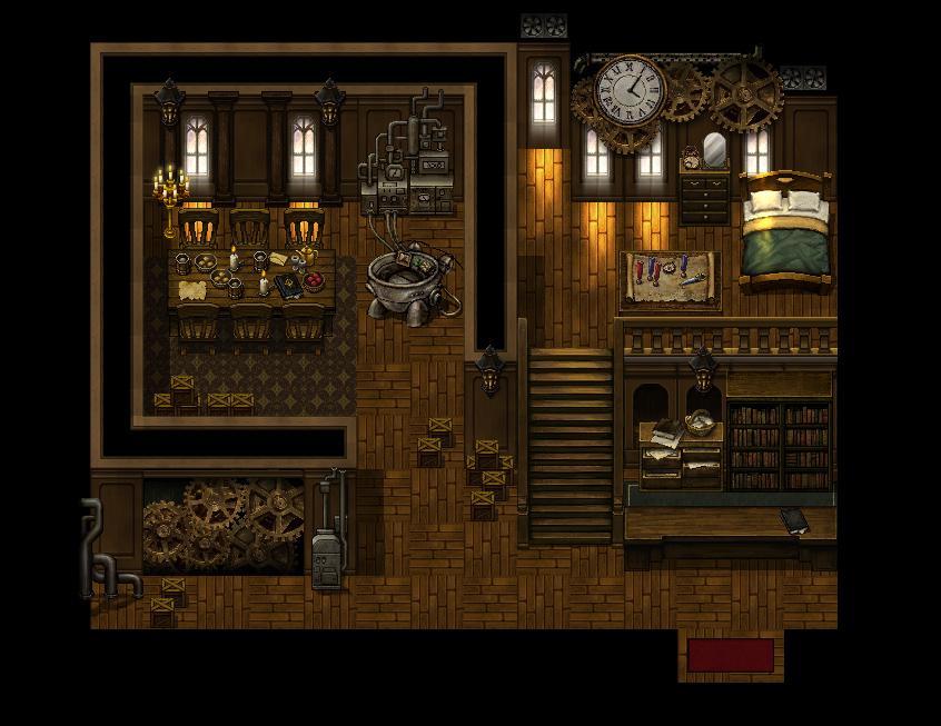 RPG Maker MV - Steampunk Tiles MV DLC Steam CD Key