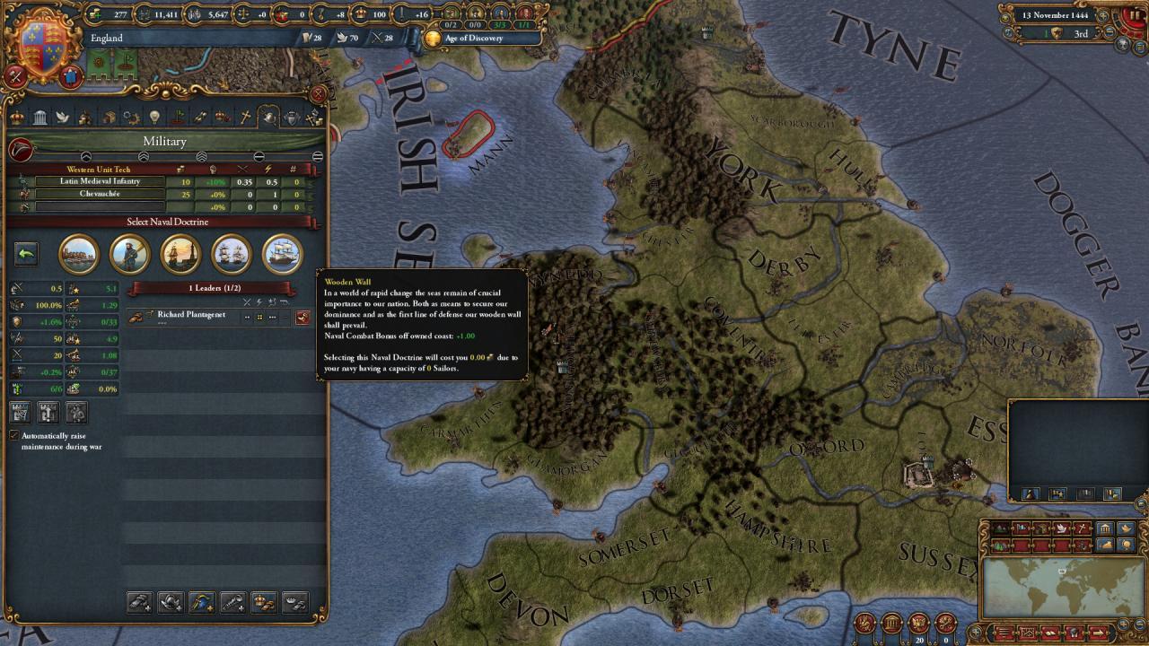 Europa Universalis IV - Rule Britannia DLC Steam CD Key