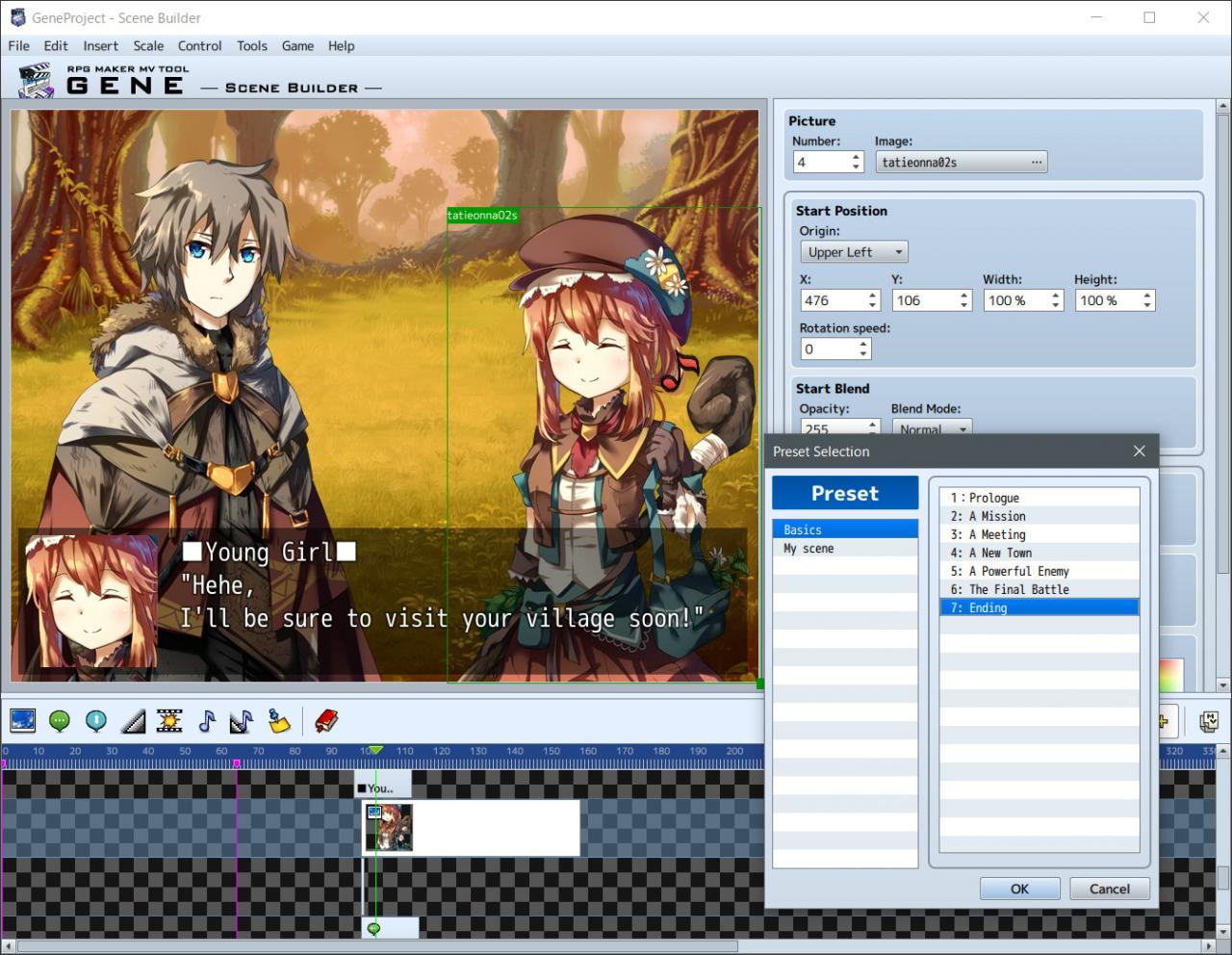 RPG Maker MV - GENE DLC EU Steam CD Key