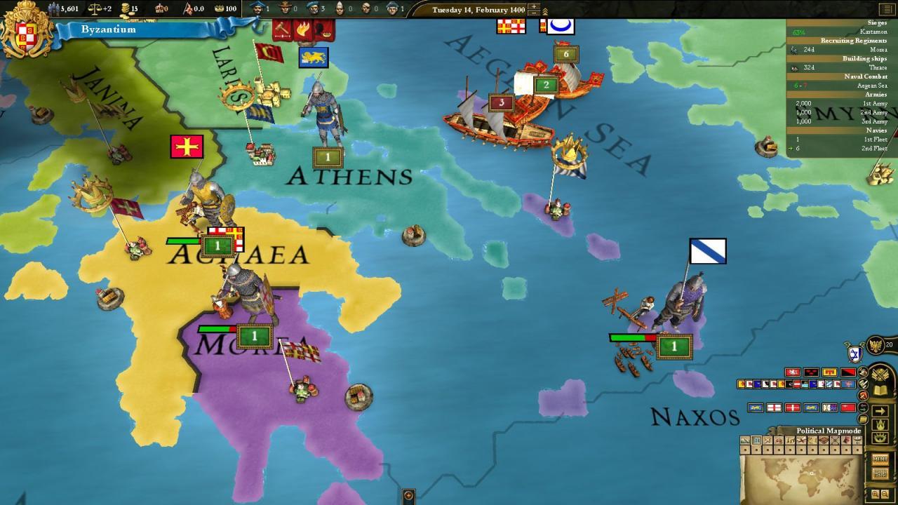 Europa Universalis III: Eastern Spritepack 2011 pc game Img-1
