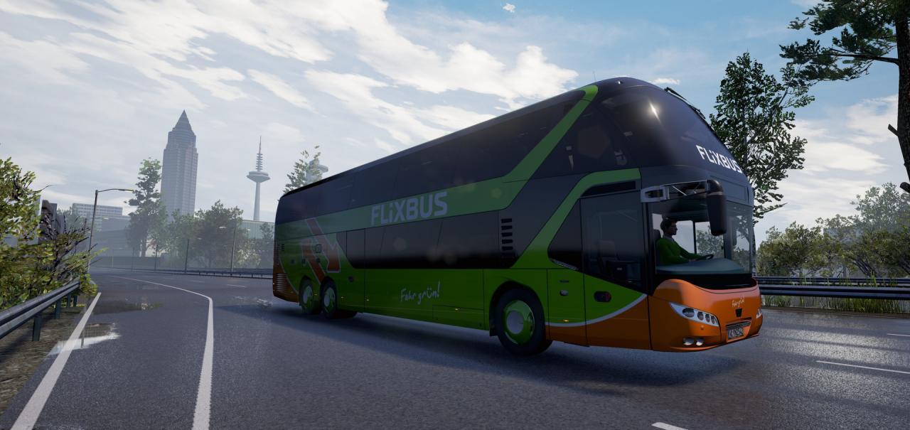 fernbus simulator add on neoplan skyliner dlc steam cd. Black Bedroom Furniture Sets. Home Design Ideas