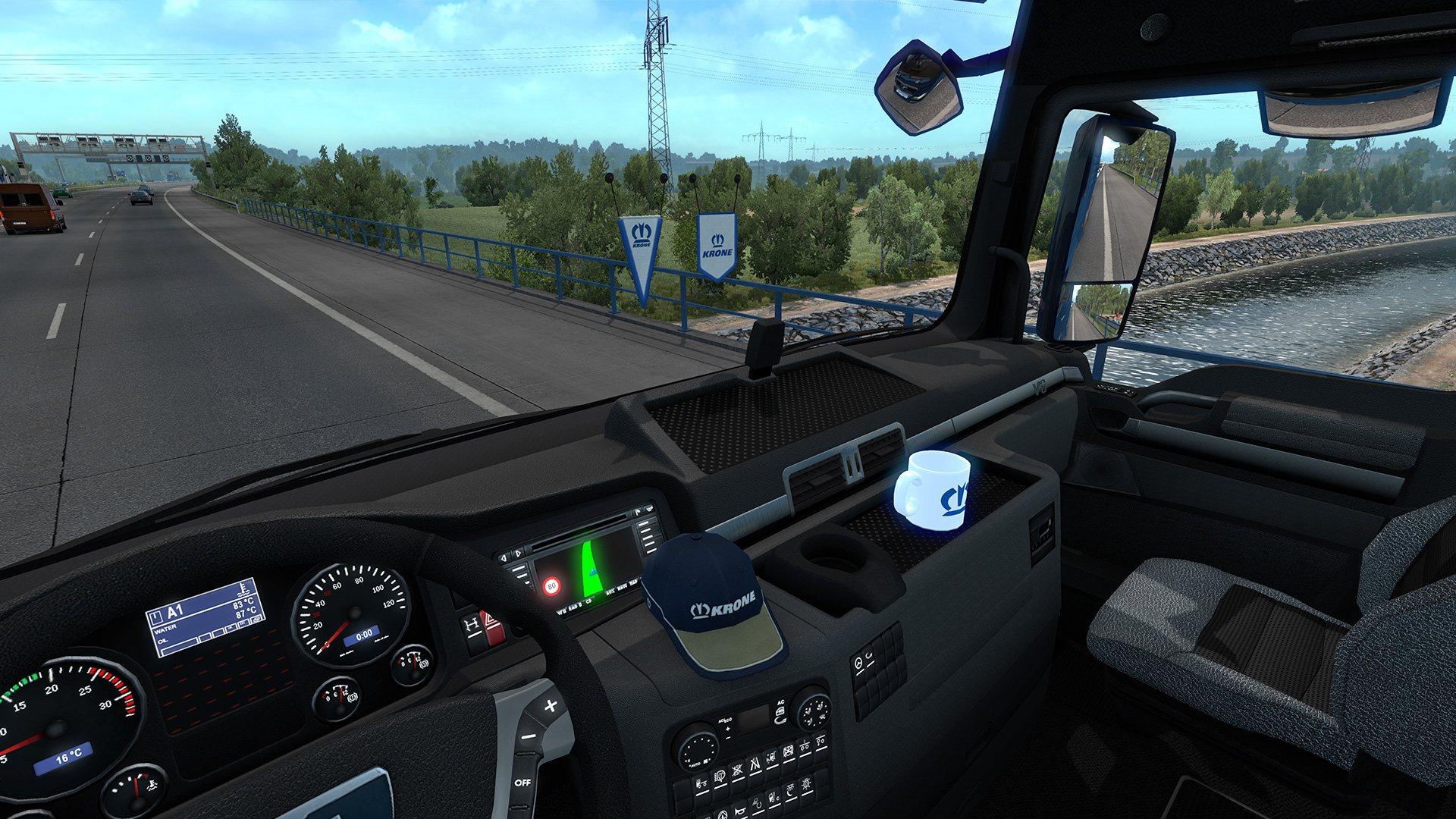 euro truck simulator 2 krone trailer pack dlc steam cd. Black Bedroom Furniture Sets. Home Design Ideas