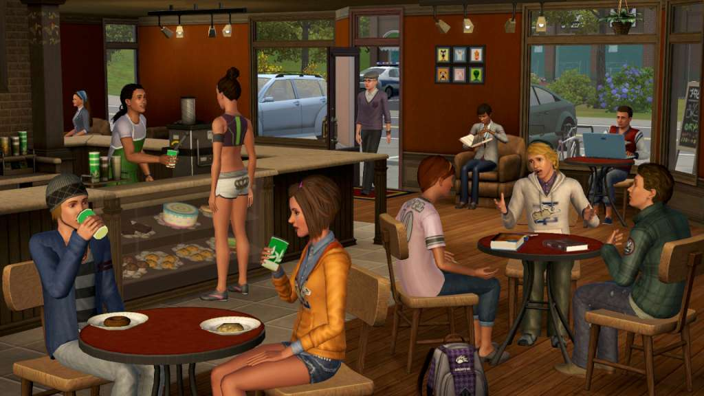 Free online virtual reality games like the sims