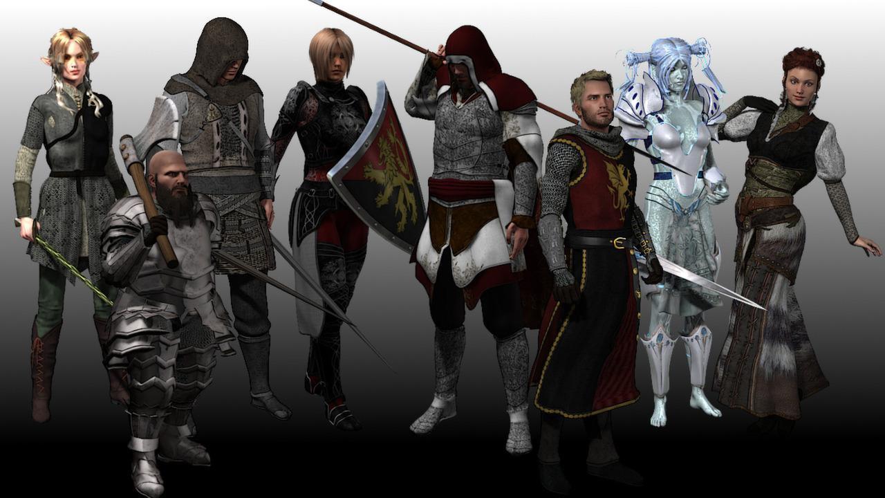 RPG Maker VX Ace - High Fantasy Main Party Pack 1 Steam CD Key