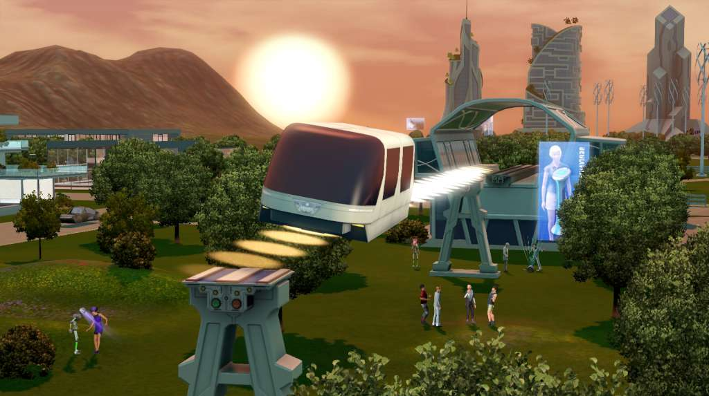 Sims 3 into the future key