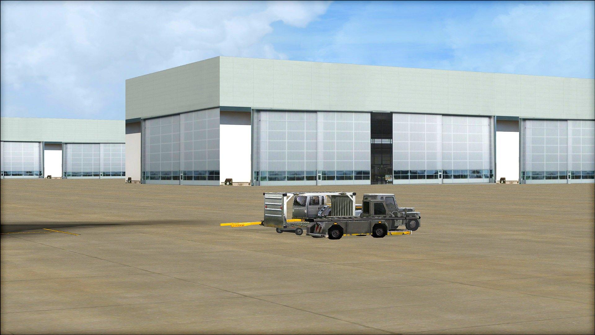Microsoft Flight Simulator X: Steam Edition - HD Airport Graphics