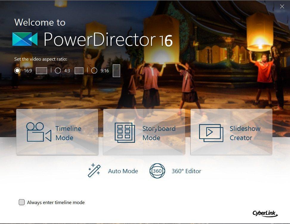 key for cyberlink powerdirector 16