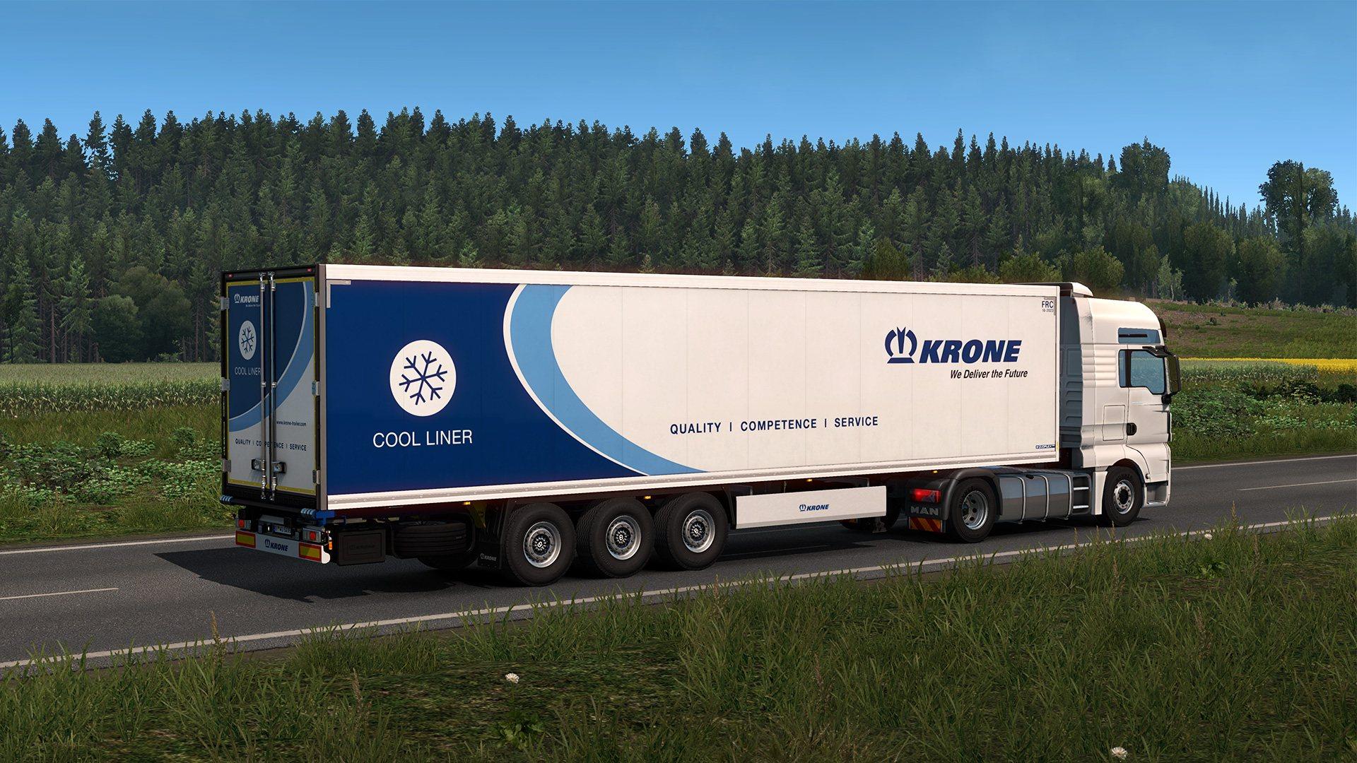 euro truck simulator 2 krone trailer pack dlc steam cd key. Black Bedroom Furniture Sets. Home Design Ideas