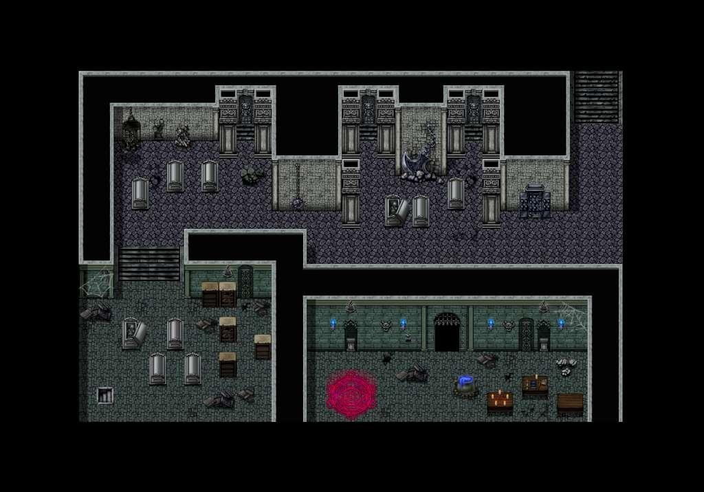 RPG Maker VX Ace - Evil Castle Tiles Pack Steam CD Key